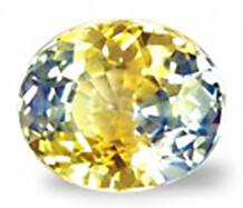 Yellow Blue Sapphire