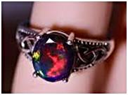 Black Opal Necklaces