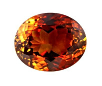 Orange Topaz