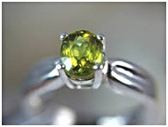 Titanite ring