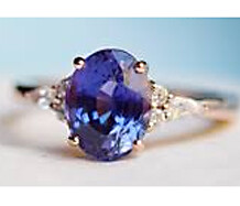 Violet Blue Sapphire