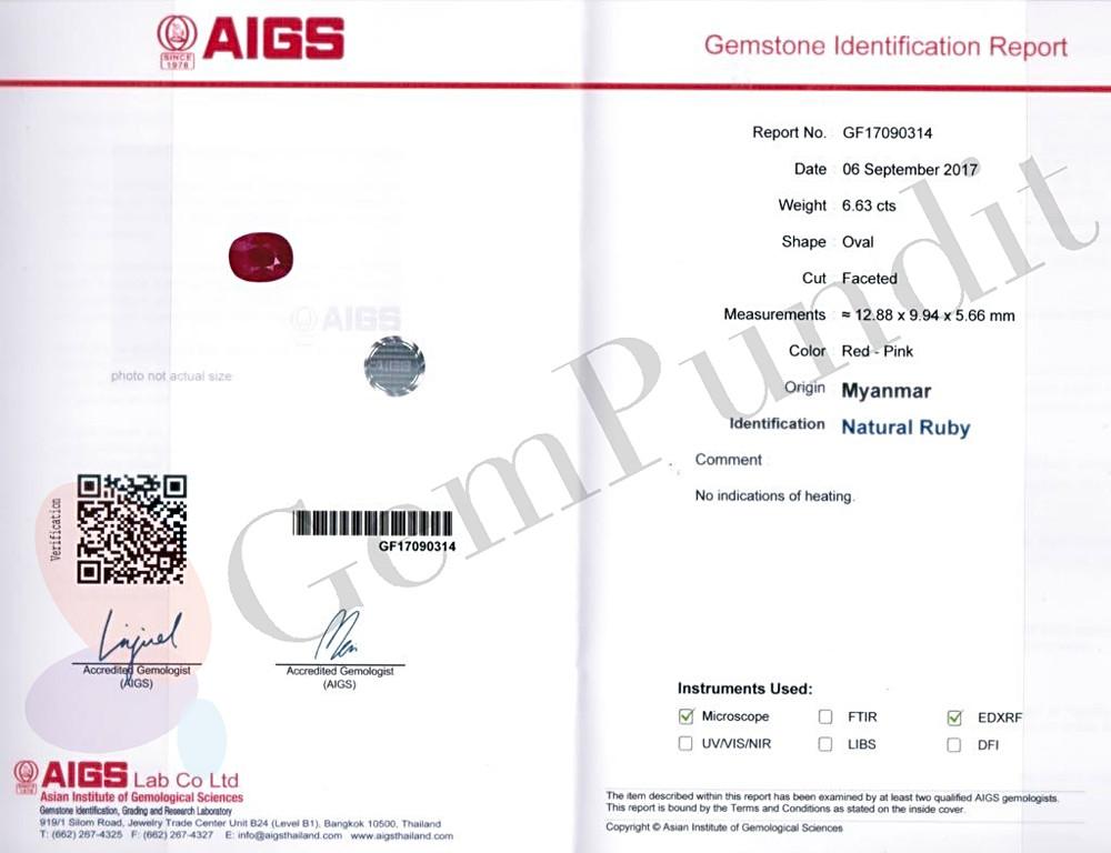 Sample Report- AIGS