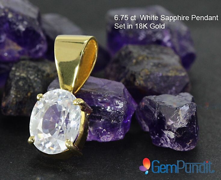 How To Wear A White Sapphire | GemPundit com