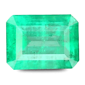 Emerald Cut Colombian Emerald