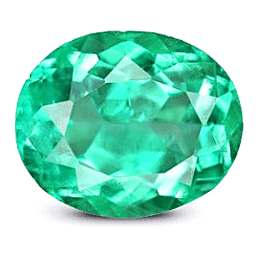 Oval Cut Colombian Emerald
