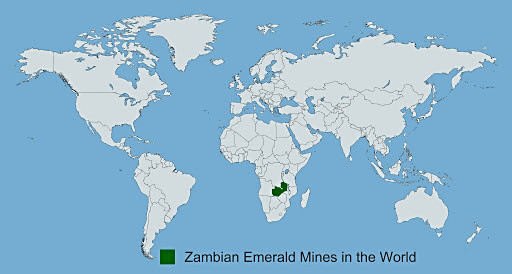 Zambian Emerald Mines in the world