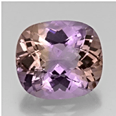 Cushion cut Ametrine
