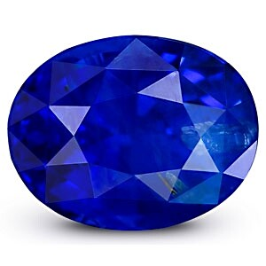 GRS Certified Royal Blue Sapphire from GemPundit's Catalogue