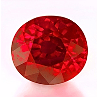 Burmese Pigeon Blood Ruby