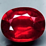 Pigeon Blood Ruby from Mozambique