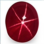 Burmese Pigeon Blood Star Ruby