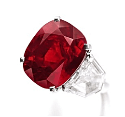 Sunrise Ruby – Pigeon Blood Ruby of 25.59 carats auctioned at Geneva