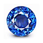 Eye clean Cornflower Blue Sapphire
