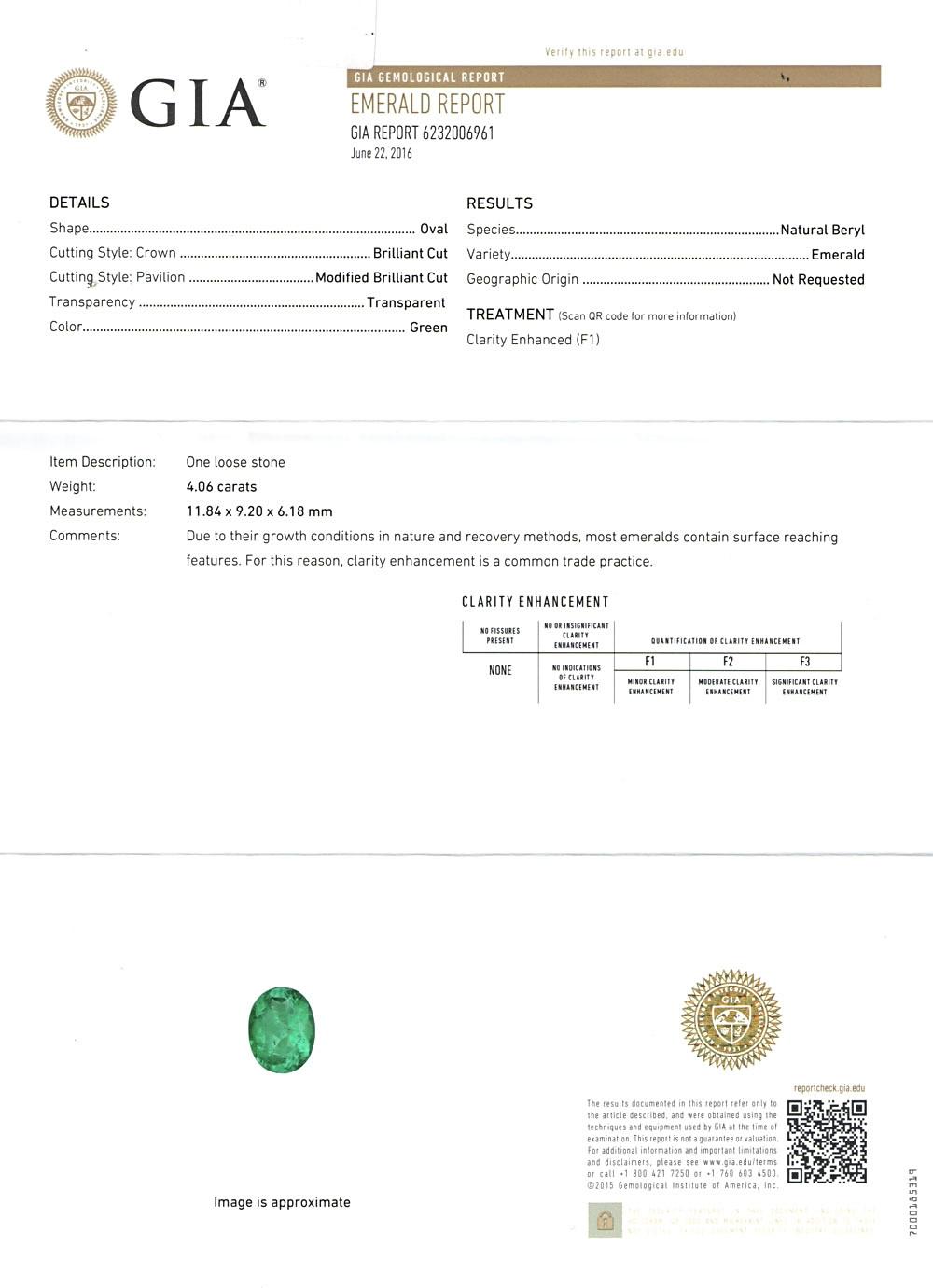 GRS Certified Emerald