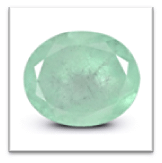 Color variation in Colombian emerald stone (Low to High)