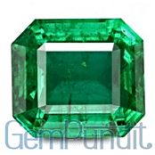 Rectangular Octagonal Cut Emerald