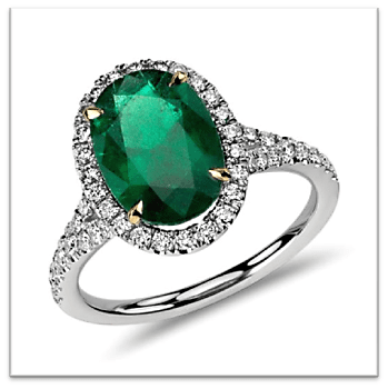 Harry Winston's emerald (18.0 carats)