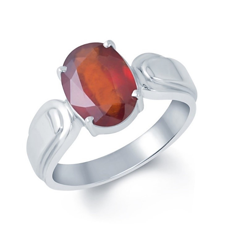Hessonite Gold Ring