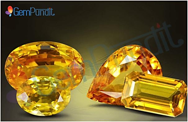 Yellow sapphire price guide/pukhraj price guide