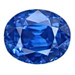 Cornflower Blue Kashmir Sapphire