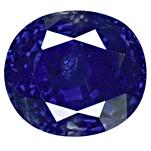 Kashmir Sapphire with Velvety Feel