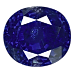 Oval cut Kashmir Sapphire