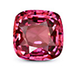 Cushion cut Mozambique Ruby