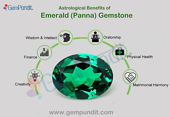 Natural Emerald Gemstones Benefits