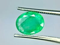 No Oil Emerald from Brazil