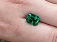 No Oil Emerald from Colombia