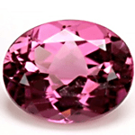 Oval Shaped Pink Tourmaline