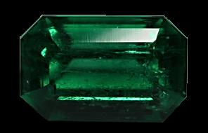 Insignificant oil emerald
