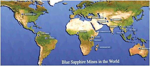 Blue Sapphire Mine