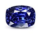 Royal Blue Sapphire Kashmir