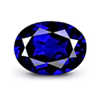 Royal Blue Sapphire with Good Clarity