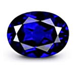 Oval cut Royal Blue Sapphire