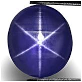 Royal Blue Star Sapphire