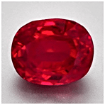 Pigeon Blood Ruby from Burma