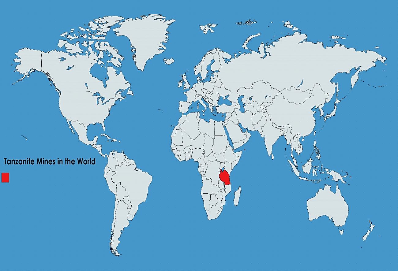 Tanzania – The only Tanzanite mine in the world