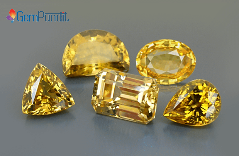Yellow Sapphire Price Guide/Pukhraj Price Guide | GemPundit com