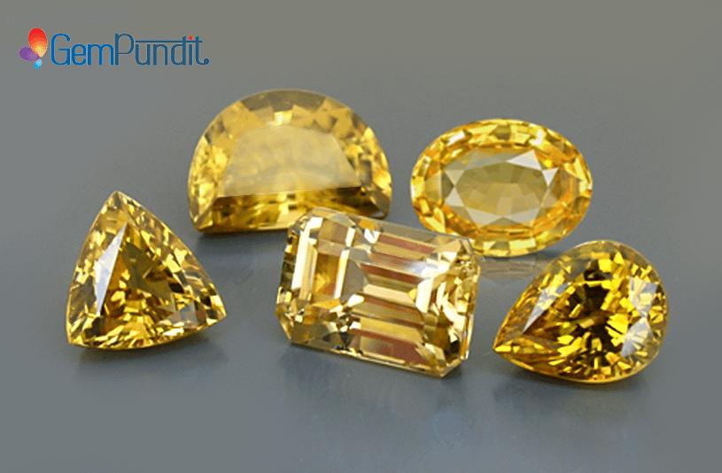 Yellow Sapphire gemstone – For Success, Health & Prosperity