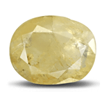 A dull Yellow Sapphire