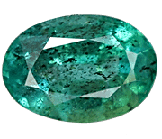 Highly included Zambian Emerald