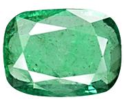 Cushion Cut Zambian Emerald
